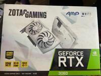 Zotac GeForce RTX 3060 AMP White Edition 12GB GDDR6 PCI-Express Graphics Card