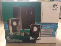 Logitech 2.1 stereo speaker system