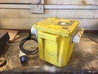 Heavy duty 5 KVA 110 volt transformer