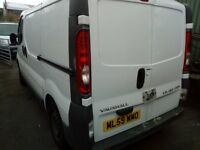VAUXHALL VIVARO - 2010 - SPARES OR REPAIR - NO ENGINE