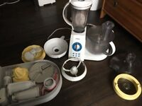 Food processor with mixer, blender, needs repair