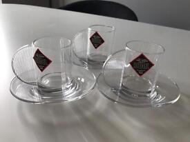 Riedel Crystal Espresso Cups