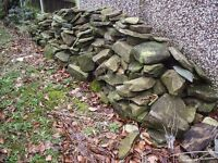 Rockery stones Large and small ...approx 3000kg .....OFFERS