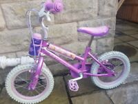 Girls disney princess bike (2-6 years)