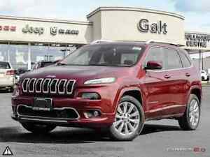 2016 Jeep Cherokee OVERLAND DEMO | SUNROOF LEATHER PARK SENSE