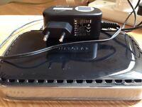 Netgear router wireless N150 WNR1000 + european power lead