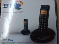 Brand New BT 3710 Twin Cordless Answering Phone