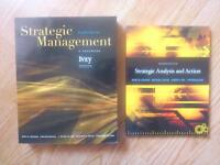 Strategic Management Textbooks