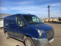 Volkswagen crafter van parts available bumper bonnet wing light radiator wheel ecu set door