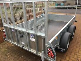 GD105 ifor williams plant trailer twin axle general duty plant no vat