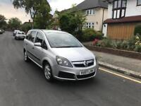 Vauxhall Zafira Automatic 1.9 Diesel , Reverse Parking Sensors and Very Low Mileage