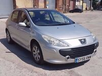 2006 PEUGEOT 307 S 1.6 HDI, DIESEL, MANUAL, 5 DOORS HATCHBACK, DRIVES WELL, P/X TO CLEAR,SHORT MOT