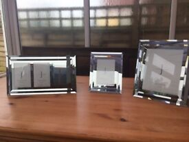 Jasper Conran Mirror Glass Photo Frames