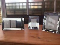 Jasper Conran Mirror Glass Photo Frames