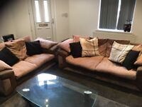 Two and three seater sofa for sale £50