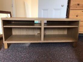 Ikea BESTÅ TV bench oak effect