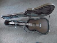 Tanglewood Crossroads Guitar with Hard Leather Case
