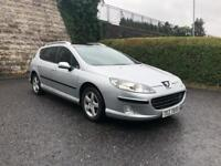 2008 Peugeot 407 SW Estate, Top Of The Range Panoramic Roof, Perfect Family Car, 2.0 Diesel £900