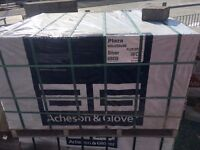Acheson and Glover paving, 400 x 200 x 80 blocks, silver colour, 450 no.
