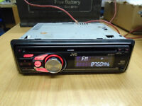 CAR STEREO JVC KD-R311 -CD/ MP3/ FRONT AUX INPUT