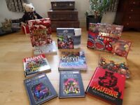 Marvels Hard Back Comic Books