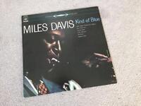 "Miles Davis ""kind of blue"" vinyl"