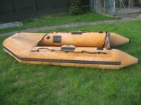 OLD HEAVY DUTY INFLATABLE REQUIRING ATTENTION PATCHING CHEAP CLEARANCE BARGAIN