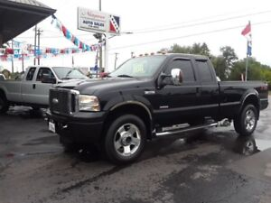 2007 Ford F-350 Lariat Diesel 4X4 ExCab Leather Heated Seats