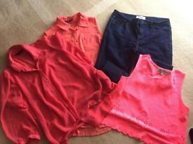 Size 10 ladies clothes bundle selfridge new look