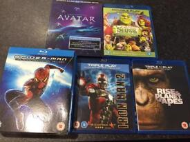 Blu-rays £1 each