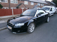 audi a4 cabriolet 2.0tdi sport for sale or swap