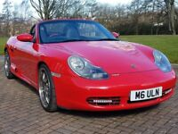 Porsche Boxter 3.2 S with every reciept MOT and FSH