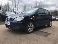 2008│Volkswagen Polo 1.4 Match 5dr│Cambelt+Waterpump Replaced│Recently Fully Serviced│MOT Till 2019