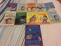 Horrid Henry books also with cd