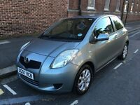 TOYOTA YARIS 1.3 ZINC 2007 3 DOOR FULL SERVICE HISTORY JUST SERVICED 1 FORMER KEEPER TOP SPEC MINT