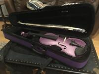 Violin - full size (purple)