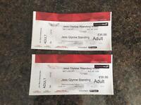 2x Jess Glynne Tickets - Parc y Scarlets - 3rd June