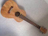 As new! PONO MGT tenor mango ukulele uke + Stagg tweed hard case gig