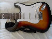 Electric guitar - Stagg Strat - good working condition