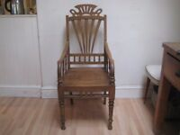Lovely Decorative Solid Wood Vintage Occasional Chair - For the living room, bedroom or bathroom