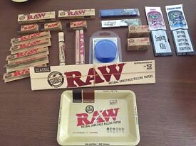 raw papers - Raw Rolling Tray Bundles etc