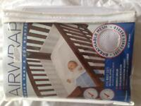 Air weave cot bumpers