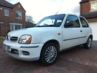 2001 NISSAN MICRA 1.0 PETROL MANUAL 111K MILES MOT AUGUST PX CLEAR MUST GO TODAY £295!!!!
