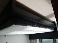 Double Bed IKEA MALM w/HOVAG mattress King Size (160x200cm) RRP£449