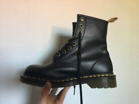 Vegan Doc Martens for sale! Only 1 year old and only worn twice