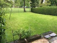 """Crossflatts Avenue, Beeston, """"above the park"""". S/c furnished, studio with direct access to garden."""