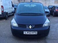 2004 Renault Espace 1.9dci, 12 months MOT, HPI clear, Great condition