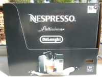 Nespresso lattissima coffee machine