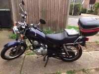 YAMAHA SR125 MOTORCYCLE BEDFORDSHIRE