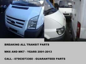 FORD TRANSIT 6 SPEED GEARBOX 2.4 MK7 YEARS 2007-2013, TESTED,WARRANTY TRANSIT PARTS CALL...